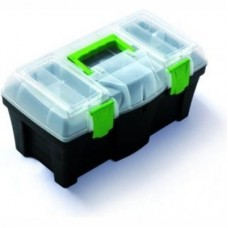 Ящик инструментальный пластиковый 18''(460х250х220мм, вкладыш органайзер 425х200х45мм)