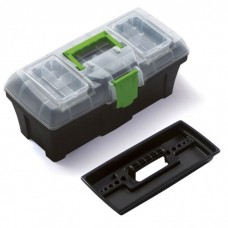 Ящик инструментальный пластиковый 22''(550х270х267мм, вкладыш органайзер 500х200х65мм)