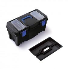 Ящик инструментальный пластиковый 22''(550х270х267мм, вкладыш органайзер 320х200х35мм)
