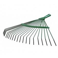 Грабли веерные с гальванизированным покрытием RACO (22 плоских зубца, 400мм)
