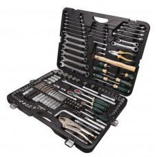 Tool set 202pcs 1/4'', 3/8'', 1/2'', 6 point, 4-32mm