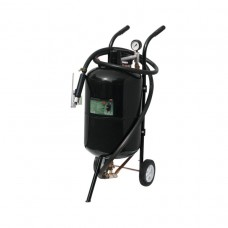 Mobile pressure sandblasting machine (tank 38L, 170-710l/min, presure 4-8.5), air