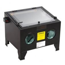 Sandblasting chamber (72L, pressure 6.8, 340l/min) table-top, air