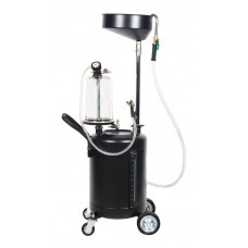 Oil drainer with funnel 90L