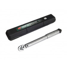 Torque wrench 28-210Nm, 1/2'', in a plastic case
