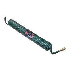 PU recoil hose 8mm х 12mm х 10m with fittings (max pressure - 15bar, working temperature from -20° t