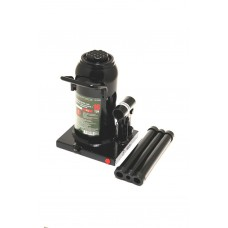 Bottle jack 10T with valve + repair kit (pickup height - 230mm, lifting height - 460mm, rod step - 1