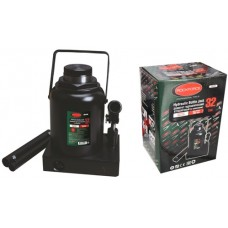 Bottle jack 32T with valve + repair kit (pickup height - 285mm, lifting height - 465mm, rod step - 1