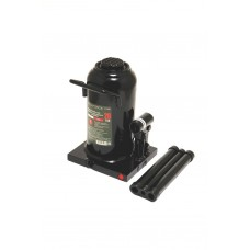 Bottle jack 20T with valve (pickup height - 242mm, lifting height - 452mm, rod step - 150mm)