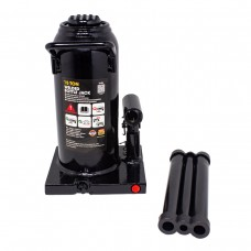 Bottle jack 15T with valve + repair kit (pickup height - 230mm, lifting height - 460mm, rod step - 1