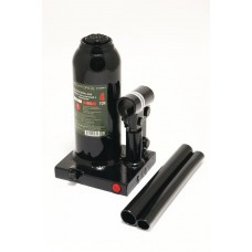 Bottle jack 6T with valve + repair kit (pickup height - 216mm, lifting height - 413mm, rod step - 12