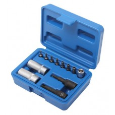 Air conditioner tool set 1/4''12pcs, in a case