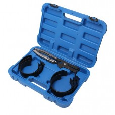 Piston ring compressor set 7pcs (73-80, 80-86, 86-93, 93-99, 99-105, 105-111mm), in a case