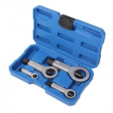 Nut splitter set 4pcs, (9-12, 12-16, 16-22, 22-27mm), in a case
