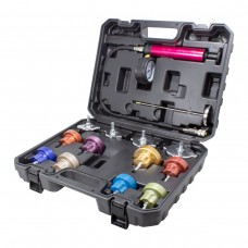 Cooling system vacuum purge and refill kit 14pcs (0-2.5bar), in a case
