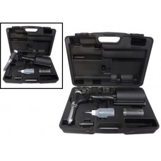 Air rivet gun with flex socket 360° ''Profi'', Taiwan (rivets 3.2-6.8mm), in a case