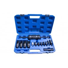 Diesel injector extractor set Bosch, Delphi, Denso, Siemens 14pcs (socket size: 25, 27, 29, 30mm), i