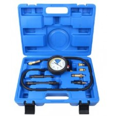 Cylinder leakage detector with adapter set 7pcs, in a case