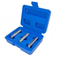 Glow plug removal socket set 10mm (8, 9, 10mm) 3pcs, in a case