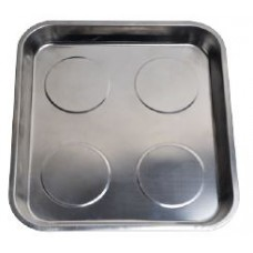 Stainless steel magnetic parts tray (290х270mm)