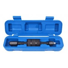 Diesel injector extractor tool (slide hammer , M8, M12, M14), in a case