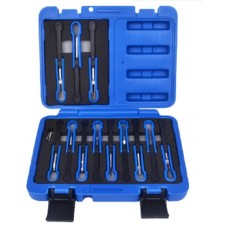 Universal terminal release cable extractor tool set 15pcs, in a case