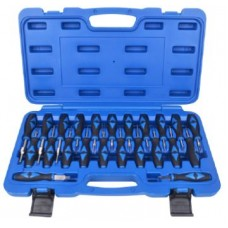 Universal terminal release cable extractor tool set 23pcs, in a case