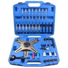 Self adjusting clutch tool kit SAC 39pcs, in a case