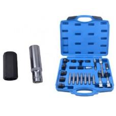 Set for alternator pulley removal 24pcs (1/2''bits: M10, T50х110mm, 10mm, bits: M8, M10, Н8, Н10, T4
