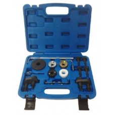 Engine timing locking set 17pcs, VAG: 1.8/2.0 TSI/TFSI, in a case