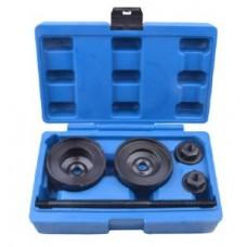 Rear suspension silent block replacement tool set 5pcs VW, Audi (1.4, 1.6, 1.8, 2.0, 1.9D), in a cas