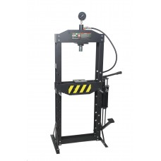 Shop press 12T, arm/foot drive (operating height: 0-1000mm, operating width: 495mm, workbench: 150х4