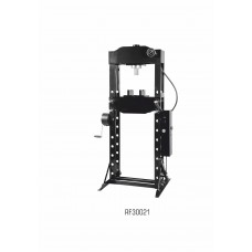 Shop press 30T, arm/foot drive (operating height: 166-1126mm, operating width: 540mm, workbench: 200