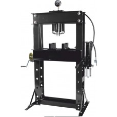 Shop press 45T, arm/air drive (operating height: 0-865mm, operating width: 645mm, workbench: 325х645