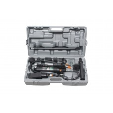 Hydraulic body frame repair kit 4T, 15pcs (pump, jack + extension set), in a case