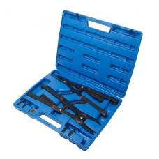 Inner circlip pliers set 2pcs, 16'', 400mm, in a case