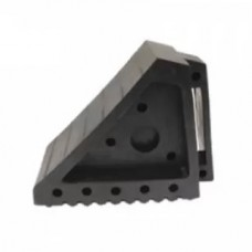 Wheel chock, rubber, with a handle (length - 170mm, width - 100mm, height - 150mm), 2 pcs