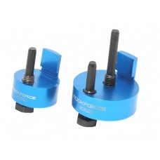 Belt tool kit for elastic ribbed belts installation 2pcs