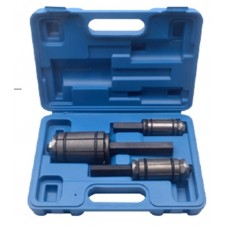 Exhaust pipe expander set, 3pcs (29-44mm, 38-64mm, 54-89mm + extra rubber kit), in a case