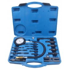 Diesel engine compression tester kit (glow plug simulator: M10х1.0х91mm, M10х1.0х119mm, M10х1.25х135