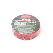 PVC Wire harness tape 105°C 19mm x 20m (red)