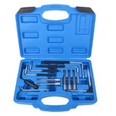 Tool set for airbag removal 12pcs, in a case