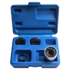 Wheel stud thread restorer kit 4pcs (M12х1.25, M12х1.5, M14х1.5), in a case