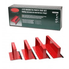 Magnetic parts tray set 4pcs (150х110х120mm-0.6kg, 210х110х120mm-0.77kg, 270х110х120mm-1kg, 310х110х