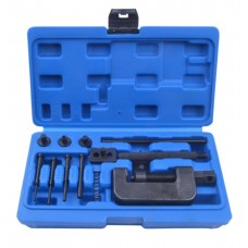 Timing chain reveting tool set 13pcs, in a case