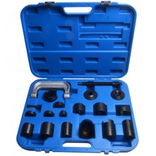 Bearing and silent block removal and installation kit 21pcs, in a case