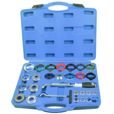 Crankshaft and camshaft seal remover and installer kit 27pcs, in a case