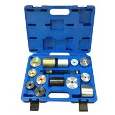Silent block replacement tool set BMW (1, 3, 5, 6, 7, 8, Z4 range, mini), in a case