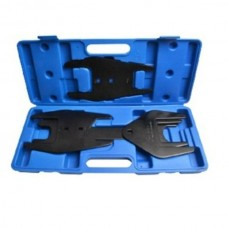 Fan clutch wrench set 1/2'', 5pcs (36, 40, 48, 54, 57, 68, 72, 76, 82mm), in a case