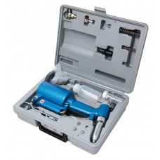 Air hydraulic rivet gun with rivets (force 880kg, 2.4, 3.2, 4.0, 4.8mm + repair kit), in a case